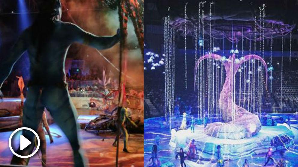 El espectáculo 'Toruk', inspirado en la película 'Avatar', del Cirque du Soleil visitará España en 2019.