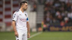Xavi Hernández durante un partido con el Al-Sadd. (@AladdSC)