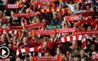 Los hinchas del Liverpool intentarán ganar en la grada con el 'You'll never walk alone'