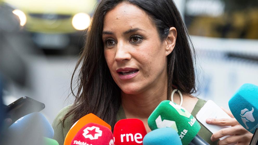 Begoña Villacís, líder de Ciudadanos en el Ayuntamiento de Madrid. (Foto: EFE)