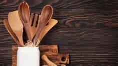 Aprende paso a paso cómo limpiar utensilios de madera fácilmente