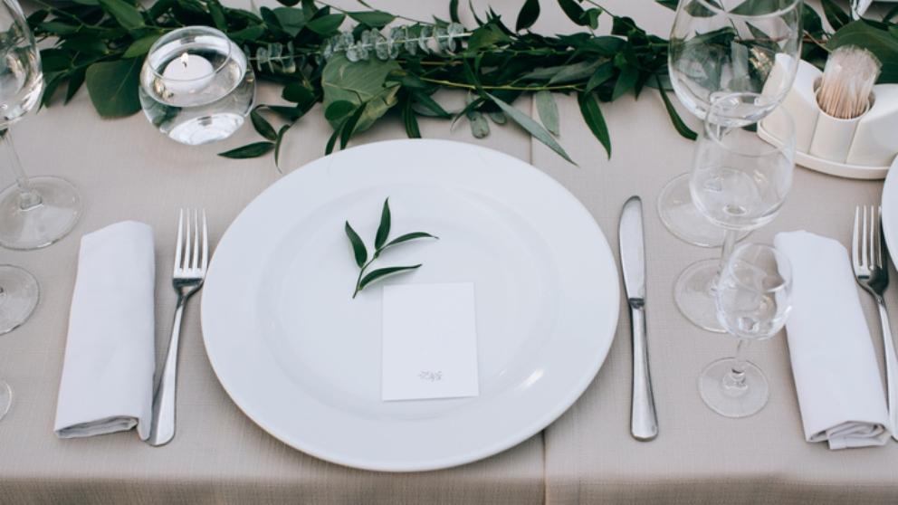 Pasos para poner la mesa bonita y de forma correcta