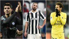 Efecto dominó: ¿Morata a la Juve, Higuaín al PSG… y Neymar al Madrid? (AFP)