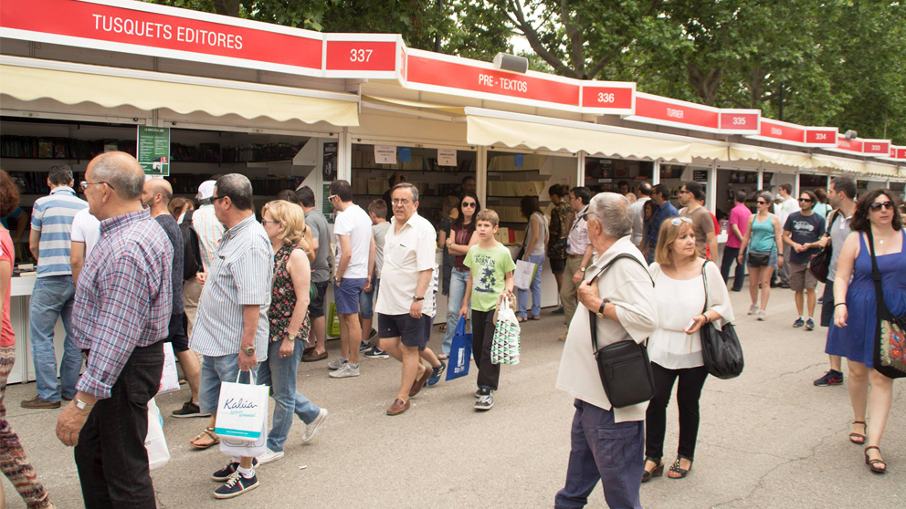 Feria del Libro de Madrid. (Foto: FLM)
