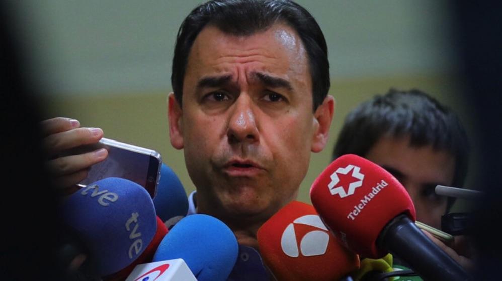 Fernando Martínez-Maillo, en el Congreso. (Foto. GPP)