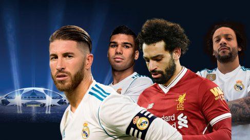 El Real Madrid prepara un plan para frenar a Salah en la final de la Champions League.