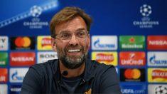 Klopp durante la rueda de prensa previa a la final. (AFP)
