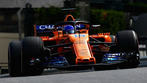 Fernando Alonso contará en su McLaren con un nuevo patrocinador que supondrá una pequeña inyección económica para un equipo que no cuenta con sponsor principal desde finales de 2013. (Getty)