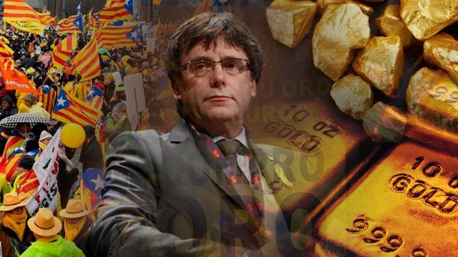 Los catalanes tienen miedo: aumenta la compra de oro ante la deriva independentista