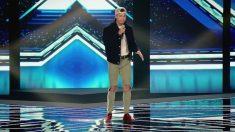 Niguelsong en el escenario de 'Factor X'