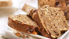 Receta de pan integral de espelta con centeno paso a paso