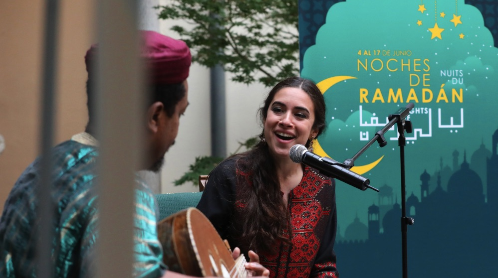 Presentación este viernes de 'Las noches del Ramadán'. (Foto. Madrid)