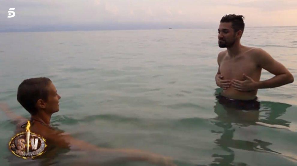 Las primeras horas de Alejandro en 'Supervivientes 2018'