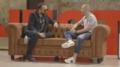 Risto Mejide y Andrés Iniesta en el 'Chester'