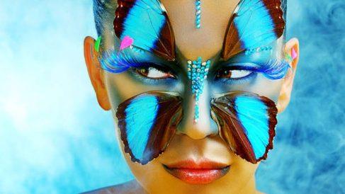 Cómo hacer un maquillaje de mariposa paso a paso