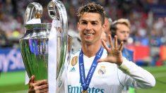 Cristiano con la Champions. (Getty)
