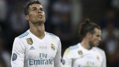 Cristiano Ronaldo durante la final de la Champions. (AFP)