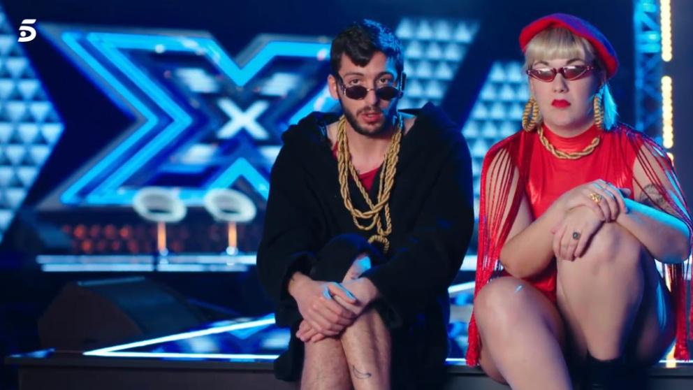 Glich Gyals triunfa con su nuevo tema «muslona» en 'Factor X'