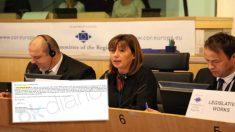La presidenta socialista de Baleares, Francina Armengol, en Bruselas