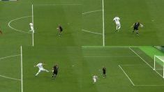 El error garrafal de Karius en el gol de Karim Benzema.