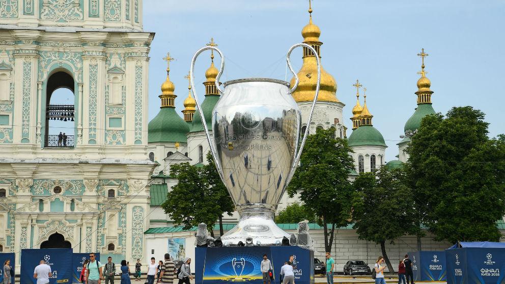 La ciudad de Kiev acoge la final de Champions 2018. (Getty) | Real Madrid – Liverpool
