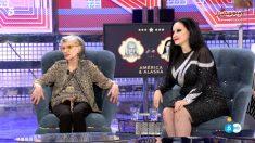 América y Olvido en 'Sálvame Deluxe'