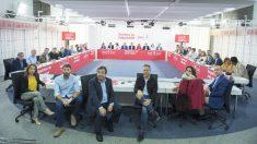 Comité Ejecutivo Federal del PSOE. (Foto: PSOE) | Moción de censura Rajoy