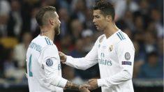Ramos levantó en Kiev su tercera Champions consecutiva como capitán. (AFP)