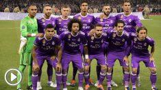 Alineación del Real Madrid. (AFP)   Final Champions League 2018