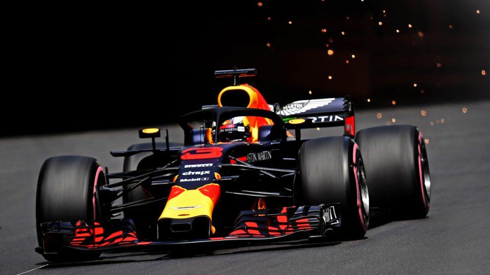 Ricciardo, durante la clasificación del GP de Mónaco de Fórmula 1 (AFP).