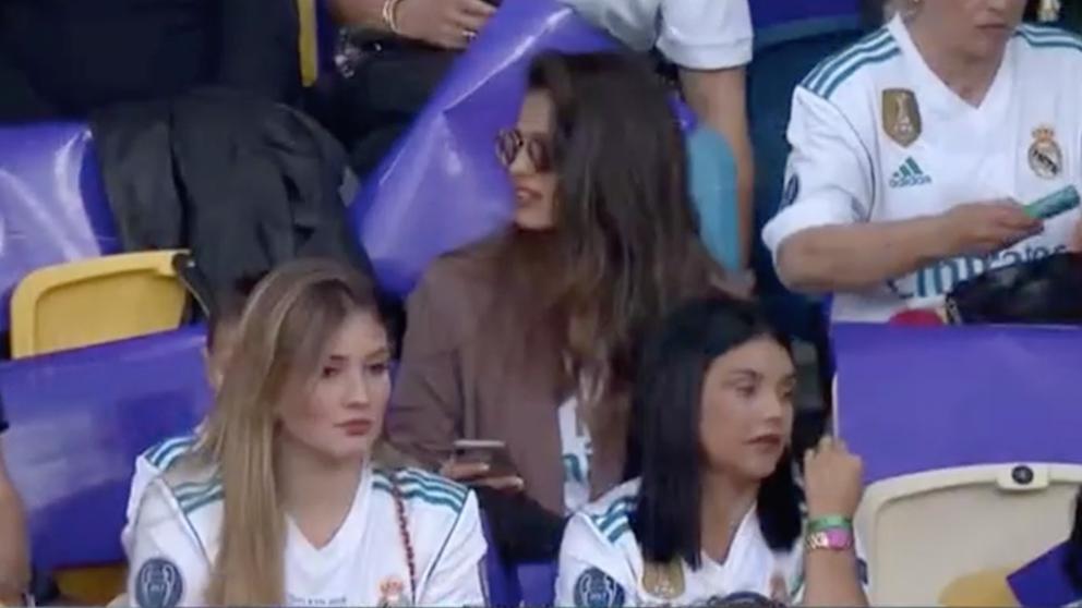 Sara Sálamo con la camiseta del Real Madrid   Final Champions League 2018   Real Madrid – Liverpool