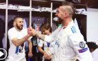 Así fue la celebración de los jugadores del Real Madrid en el vestuario