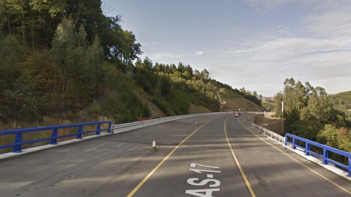 Accidente de tráfico en Asturias.