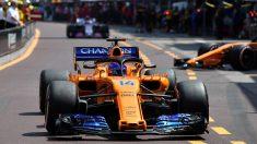 Fernando Alonso no pasó ni de la Q1 en Francia.