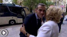 ¿Qué le dijo Manuela Carmena a Bale?