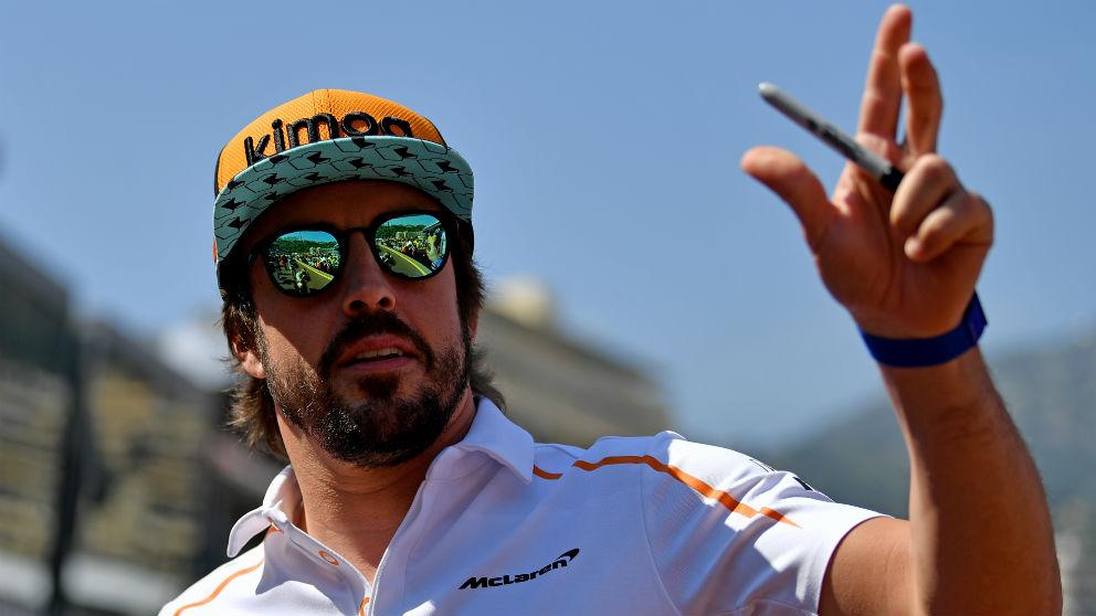 La aventura de Fernando Alonso en la Fórmula 1 podría estar llegando a su fin, tal y como opina un Martin Brundle al que el piloto español le dio esa impresión en su último encuentro. (Getty)