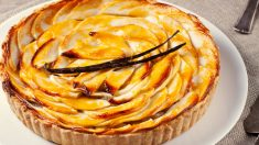 Receta de Flan de pera al horno fácil de preparar