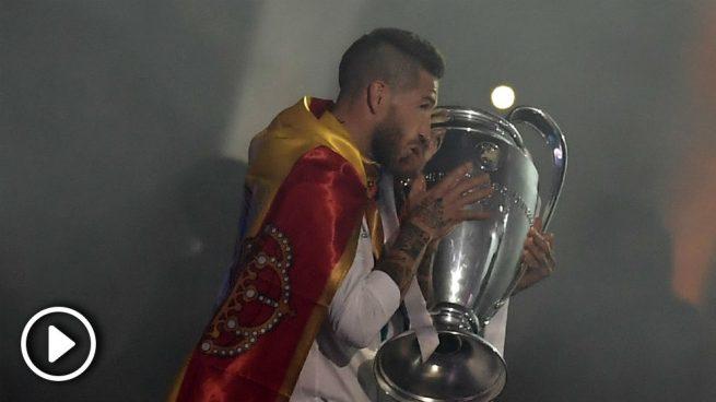 """Sergio Ramos: """"Decían que era imposible volver a ganar y dudaron de nosotros, pero ahora vamos a por la Decimocuarta"""""""