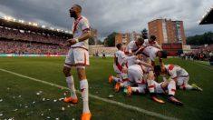 El Rayo Vallecano regresa a Primera División tras ganar al Lugo. (EFE)