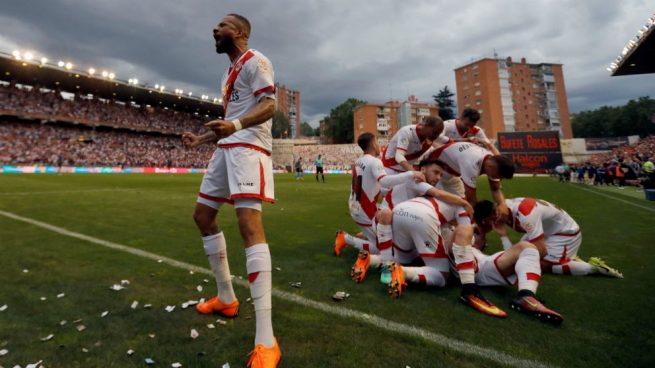 El Rayo Vallecano vuelve a Primera División