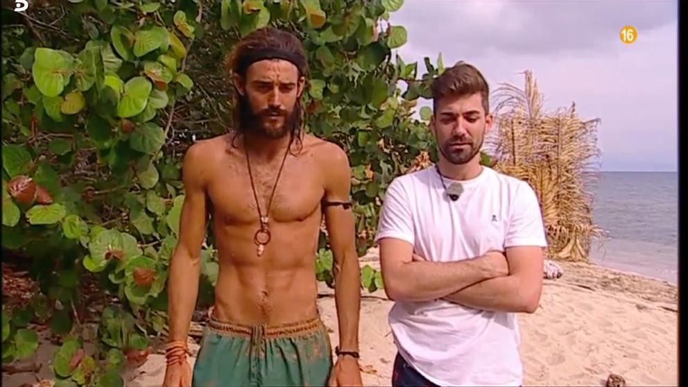 El tenso encuentro entre Albalá y Logan protagonizó el pasado jueves 'Supervivientes'