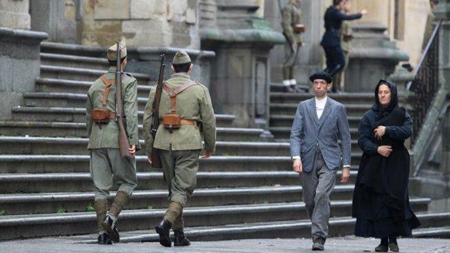 Unamuno vuelve a las calles de Salamanca gracias a Amenábar