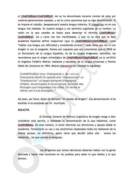 Rebelión de alcaldes contra Lambán por su plan de catalanización de Aragón