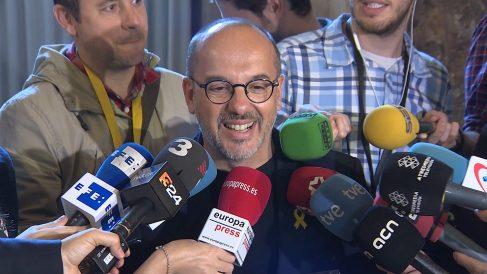Carles Campuzano, portavoz del PDeCAT en el Congreso. (Europa Press)