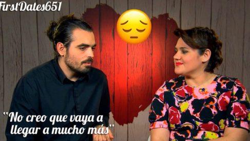 Ángel se queda sin amor en 'First Dates' y ya van 21 años