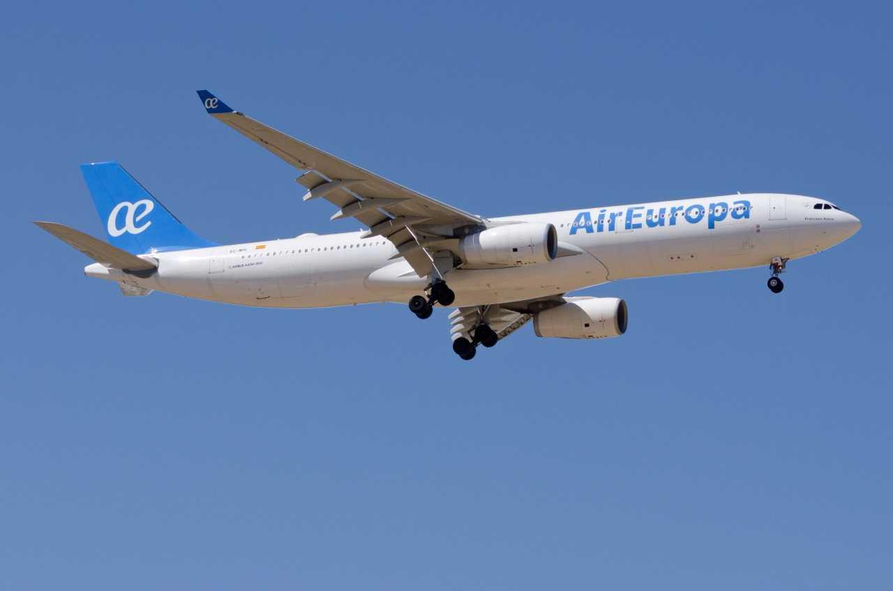 Modelo Airbus 330 de la aerolínea Air Europa