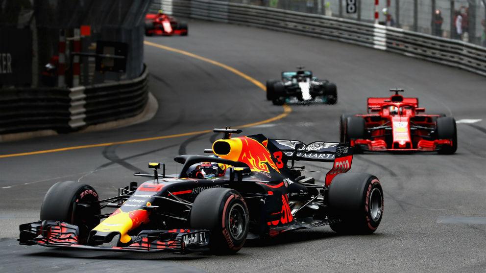 Daniel Ricciardo dominó a la perfección el Gran Premio de Mónaco de Fórmula 1, logrando la segunda victoria del año, lo que le aúpa al tercer puesto de la general. (getty)