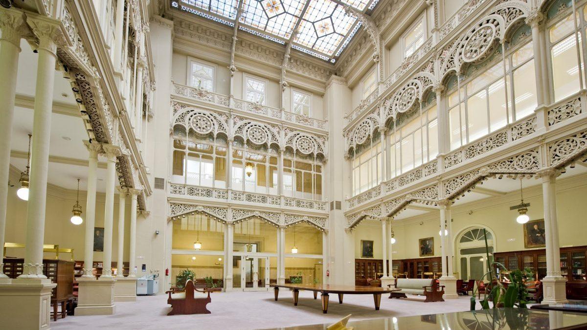 Sede central del Banco de España (Foto. Pinterest)