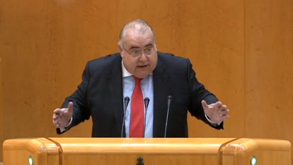Tontxu Rodriguez, portavoz del PSOE en la Comisión Constitucional del Senado.
