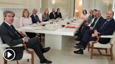 Ángel Garrido presidiendo el Consejo de Gobierno. (Foto. CM)